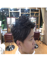 さっぱり!ショートスタイル☆|Growのメンズヘアスタイル