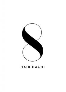 HAIR HACHI  | ヘアーハチ  のロゴ