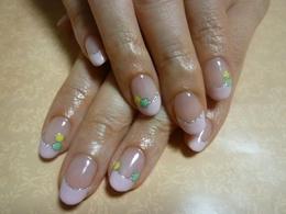 ドットフレンチ|Nail Salon Clocheのネイル