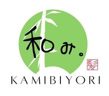 和み。KAMIBIYORI  | ナゴミ カミビヨリ  のロゴ