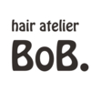 hair atelier BoB.  | ヘアアトリエ ボブ  のロゴ