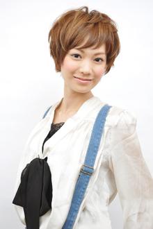 アクティブショート|HAIR MAKE BONO美容室のヘアスタイル
