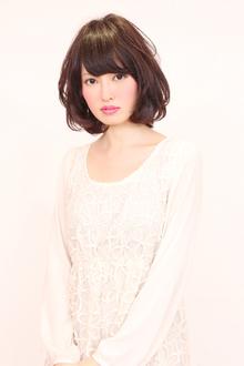 ふんわりボブ|HAIR MAKE BONO美容室のヘアスタイル