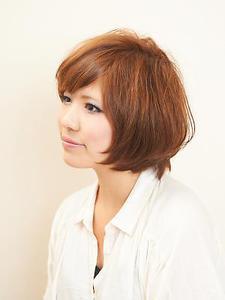 ショートボブ|Hair×Cafe KUMAのヘアスタイル