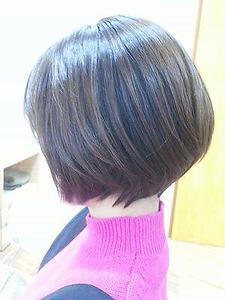 前下がりマッシュボブ|LIBRE+hpのヘアスタイル