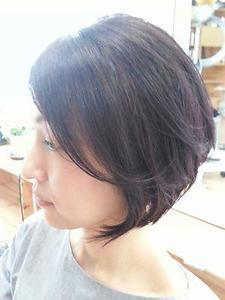 大人な綺麗カールボブ|LIBRE+hpのヘアスタイル