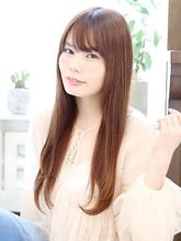 楽チンスタイリング☆ナチュラルストレートスタイル|Lovllのヘアスタイル