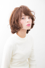 ボヘミアンカーリー|hair make passage 相模大野店のヘアスタイル