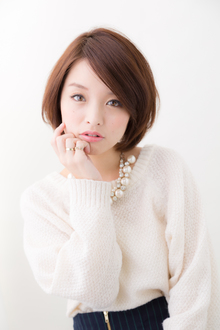 ひし形上品シルエット|hair make passage 相模大野店のヘアスタイル