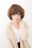 ふわふわショートボブ|hair make passage 相模大野店のヘアスタイル