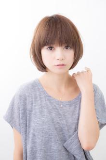 ピュアショート|hair make passage 相模大野店のヘアスタイル