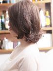 センターパート+柔らかウェーブが織りなすモテカワロブ☆