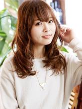 可愛さしかない柔らかさ☆セミロング×波ウェーブ☆|hair make passage 相模大野店 大町 未来のヘアスタイル