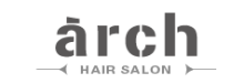 arch hair  | アーチ  のロゴ