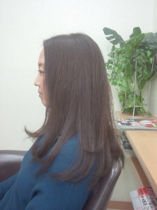 しっとりロング 美容室オオタニのヘアスタイル