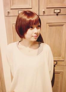 フワかわショートぼぶ|ZOLA hairのヘアスタイル
