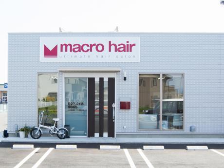 macro hair