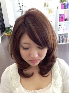 愛されナチュラルヘアー|macro hairのヘアスタイル