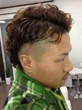 ワイルドツーブロック|macro hairのメンズヘアスタイル