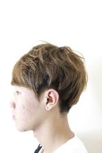 ツーブロックセクションカラー|Alo hair designのメンズヘアスタイル