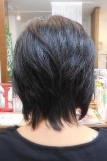 かんたんショート|美容室 Reirのヘアスタイル