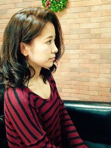 大人ミディアムスタイル|hair Seeleのヘアスタイル