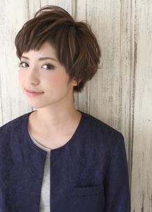 ☆ショートレイヤーボブ☆ Beronicaのヘアスタイル