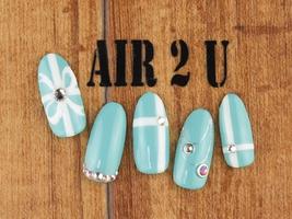 【オフ無料】つけ放題9500円|Air 2U -Nail-のネイル
