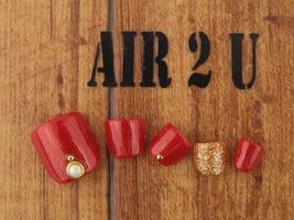 フット親指アート付7000円|Air 2U -Nail-のネイル