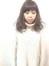 ◆大人可愛いアッシュグレージュミディ◆|MIZUMAのヘアスタイル