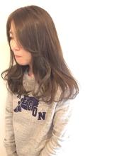 ◆マットグレージュ カジュアルロング◆|MIZUMAのヘアスタイル