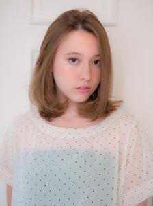内巻きフレンチガーリー|Acmiのヘアスタイル