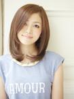 【黒髪でも似合う!】上品ミディアム|Acmiのヘアスタイル