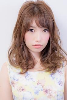 ゆるふわセミディスタイル☆|Acmiのヘアスタイル
