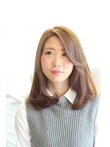 シフォンミディー Anti basicのヘアスタイル