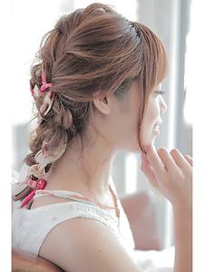 シンプル編み込みMIX♪|Anti basicのヘアスタイル