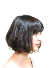 クラッシーシフォンボブ|Anti basicのヘアスタイル