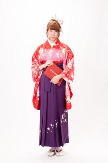 レンタル卒業袴セットE|M&Co.のヘアスタイル