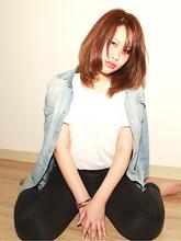 ミディアム/ラフ/アッシュラベンダー/パーマ/|Grand × AtlierDonguriのヘアスタイル