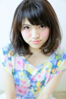 スプリング/ミディアム/パーマ|Grand × AtlierDonguriのヘアスタイル