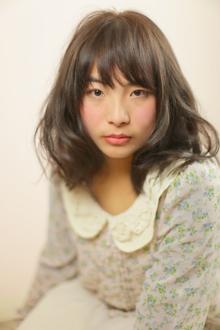 スプリング/ミディアムパーマ|Grand × AtlierDonguriのヘアスタイル