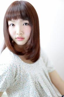 ストレート/ピンク/ざっくりバング|Grand × AtlierDonguriのヘアスタイル