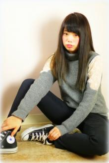ニュートラル/ストレート|Grand × AtlierDonguriのヘアスタイル