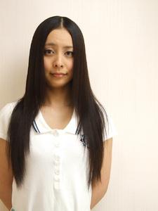 ロングレイヤー 縮毛矯正|Grand × AtlierDonguriのヘアスタイル