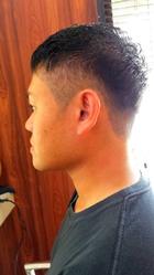 ジェルですっきりツーブロック|Grand × AtlierDonguriのメンズヘアスタイル