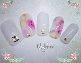 花柄ネイル|Salon Mylitta -Nail-のネイル