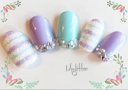 カラフルシュガーネイル|Salon Mylitta -Nail-のネイル