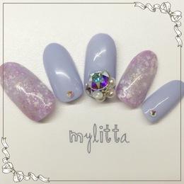 紫陽花ネイル|Salon Mylitta -Nail-のネイル