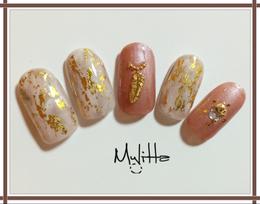 上品エレガントネイル|Salon Mylitta -Nail-のネイル