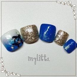 カメさんネイル!|Salon Mylitta -Nail-のネイル